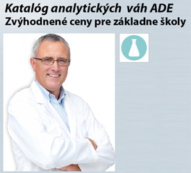 Katalóg analytických váh ADE