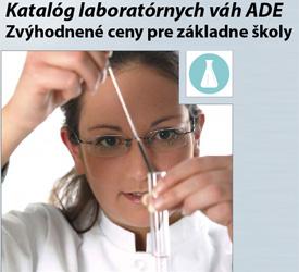 Katalóg laboratórnych váh ADE